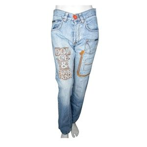 Dolce & Gabbana Embroidered Jeans Size 29